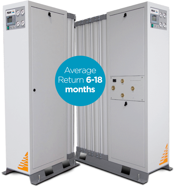 Nitrogen generator On-site i-Flow CMS best savings
