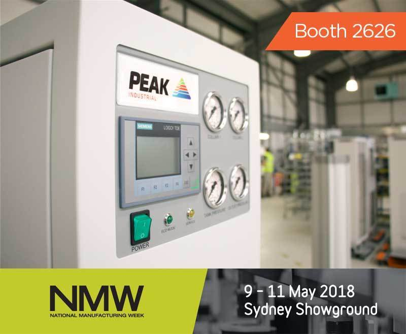 Peak Gas Generation exhibits i-Flow nitrogen generator at